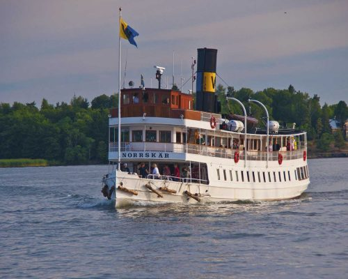 Norrskär Waxholmsbåt - Norrskär classic boat